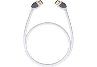 OEHLBACH 52575 SHAPE MAGIC, HDMI-Kabel, 5100 mm, Weiß