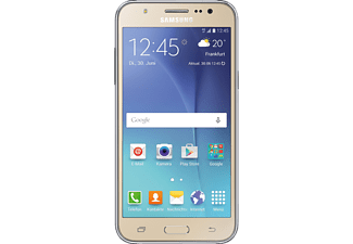 samsung galaxy j5 8gb smartphone in gold media markt. Black Bedroom Furniture Sets. Home Design Ideas