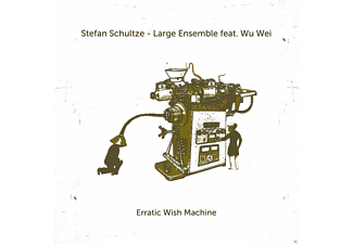 Stefan Schultze, Wu Wei - ERRATIC WISH MACHINE [CD]