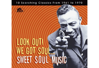VARIOUS - Look Out! We Got Soul-Sweet Soul Music10 Scorching Classics - (CD)