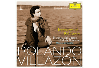 Rolando Villazon, Marco Armiliato - Treasures Of Belcanto [CD]