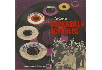 VARIOUS - Unissued Rockabilly Acetates - (Vinyl)