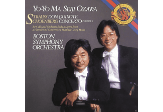 Yo-Yo Ma - Don Quixote, Op.35/Concerto - (Maxi Single CD)