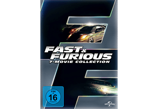 Fast & Furious - 7 Movie Collection - (DVD)