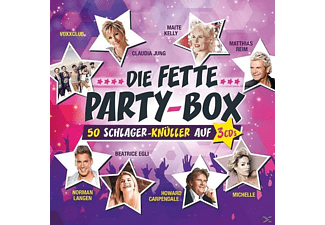 various die fette party box sampler compilations cd boxen media markt. Black Bedroom Furniture Sets. Home Design Ideas