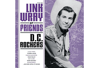 Link Wray, VARIOUS - Link Wray And Friends-Dc Rockers [CD]