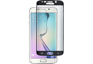 INOS Tempered Glass Full Face inos 9H 0.33mm Samsung G925 Galaxy S6 Edge Μαύρο (1 τεμ.)