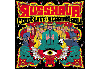 Russkaja - Peace, Love & Russian Roll - (CD)