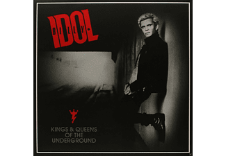 Billy Idol - Kings & Queens Of The Underground/2lp+Gatefold+Mp3 - (Vinyl)