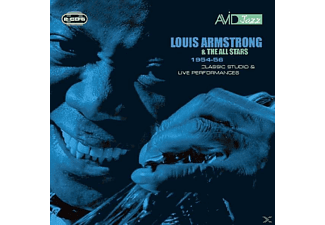 Louis (& His All Stars) Armstrong - 1954-56 Classic Studio & Live Performances - (CD)