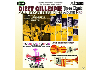 Dizzy & All Star Sessions Gillespie - Three Classic Albums Plus - (CD)