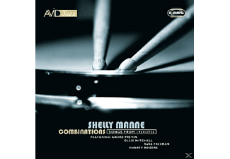 Manne - Combinations Sessions 1954-1956 - (CD)