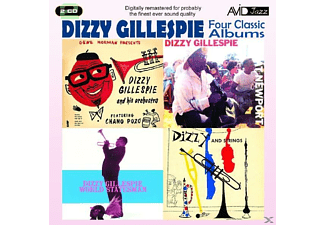 VARIOUS - Dizzy Gillespie Four Classic Albums - (CD)