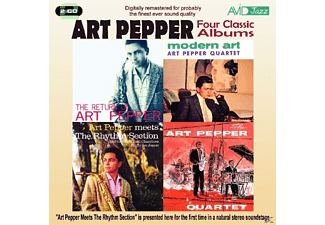Art Pepper - Four Classic Albums: the Return of Art Pepper/Modern Art/Art - (CD)