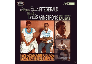 Ella Fitzgerald - The Complete Ella Fitzgerald And Louis Armstrong Studio Reco - (CD)