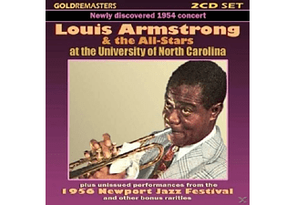 Louis & Allstars Amstrong - Live At The University Of North Carolina - (CD)