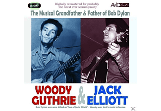 Woody & Jack Guthrie - Musical Father & Grand - (CD)