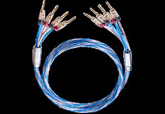 OEHLBACH Lautsprecherkabel Bi-Wiring versilbert 2x2,5/2x4,0 mm², mit ...