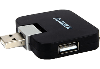 MACK MCH-097 BK 4 Port Usb 2.0 Hub