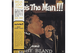 Dynamic Bobby Bland - Here's The Man!!! - (LP + Bonus-CD)