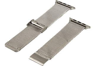 HAMA Milanaise Watchband till 38 mm Apple Watch - Silver