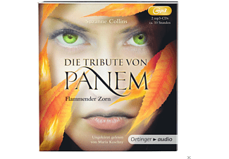 Suzanne Collins - Die Tribute Von Panem-Flammender Zorn - (MP3-CD)