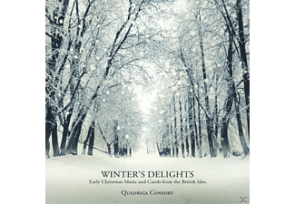 Quadriga Consort - Winter's Delights-Early Christmas Music And Carols From The British Isles - (CD)