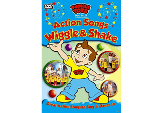 Tumble Tots - Action Songs - Wiggle And Shake - (DVD)