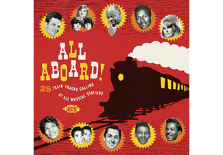 VARIOUS - All Aboard! 25 Train Tracks Calling At All Musical - (CD)