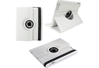 VOLTE-TEL Θήκη Ipad 5 /Ipad Air Leather Book Rotating Stand White -(5205308123146)