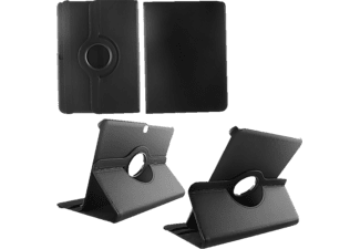"VOLTE-TEL Θήκη Samsung T530 Tab 4 10.1"" Leather Book Rotating Stand Black -(5205308130533)"