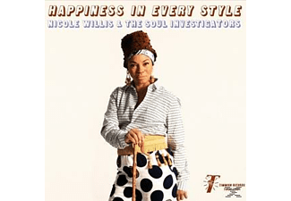 Nicole Willis, Soul Investigators - Happiness In Every Style - (LP + Download)