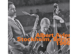 Albert Quintet Ayler - Stockholm,Berlin 1966 - (CD)