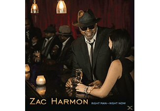 Zac Harmon - Right Man Right Now - (CD)