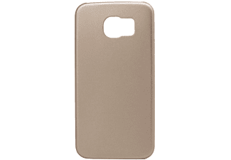 INOS Faceplate inos Samsung G920 Galaxy S6 Leather Feel Χρυσό