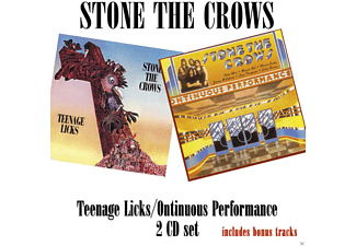 Stone The Crows - Teenage Licks/Ontinuous Perfomance - (CD)