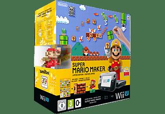 NINTENDO Wii U Limited Edition Super Mario Maker Premium Pack Schwarz