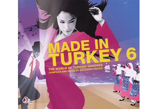 VARIOUS - Made In Turkey 6 - The World Of Turkish Grooves - (CD)