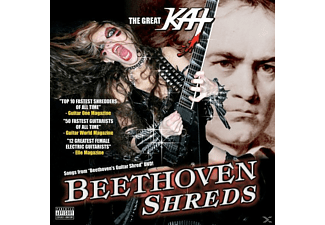 The Great Kat - Beethoven's Guitar Shred - (CD)