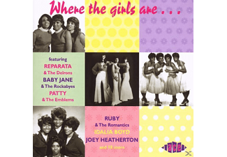VARIOUS - Where The Girls Are Vol.1 - (CD)
