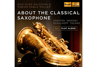 Fabian Pablo Müller, Olga Salogina, VARIOUS - About The Classical Saxophone - (CD)