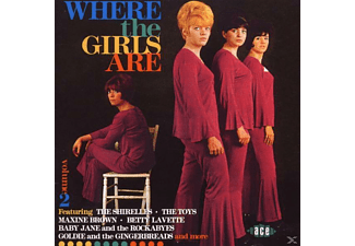 VARIOUS - Where The Girls Are Vol.2 - (CD)