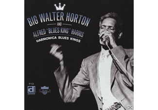 "Horton, Big Walter & Harris, Alfred ""Blues King"" - Harmonica Blues Kings - (CD)"