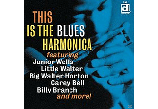 VARIOUS - This Is The Blues Harmonica - (CD)