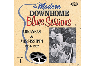 VARIOUS - The Modern Downhome Blues Sessions: Arkansas & Mis - (CD)
