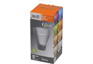 JEDI LIGHTING 140143081 iDual, Warmton-LED, 6.5 Watt