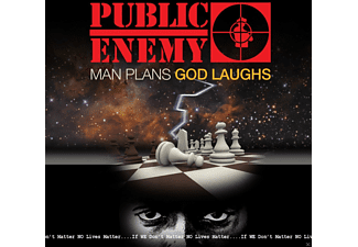 Public Enemy - Man Plans God Laughs - (CD)