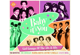 VARIOUS - Baby Its You-Girl Groups Of The 50s & 60s - (CD)