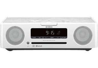 YAMAHA TSX-B235 Audiosystem (Radio, CD, USB, Bluetooth, Weiß)