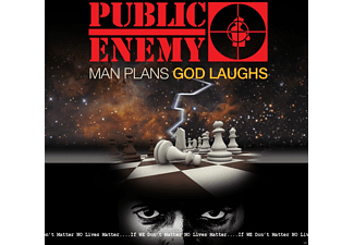 Public Enemy - Man Plans God Laughs (Clean Version) - (CD)